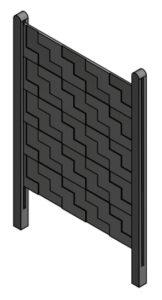 Aplicación para molde placa escala