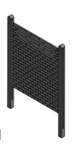 Aplicación para molde placa rombo